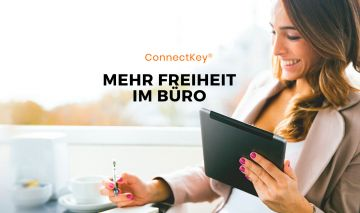 Multifunktionsdrucker mit Xerox Connect Key®