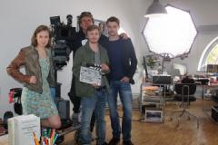 """Dreharbeiten """"Tatort Erfurt"""" 2013"""