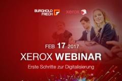 Xerox Webinar - Erste Schritte zur Digitalisierung