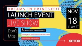 Dreams in. Prints out. Launch Event